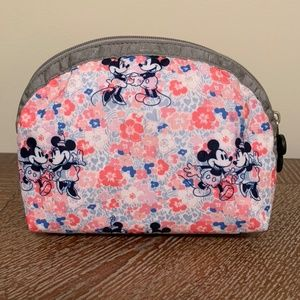 LeSportsac Mickey and Minnie Cosmetic Bag